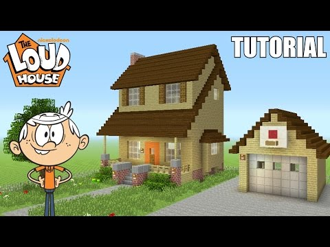 Minecraft Tutorial: How To Make 'The Loud House' House! 'The Loud House' (Survival House)