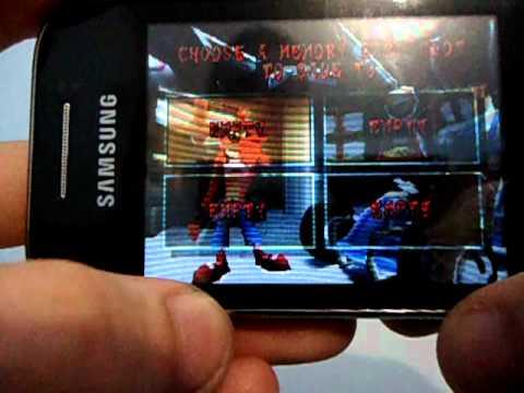 Emulador PS1 - FPSE Android - Samsung Galaxy Y GT-S5360B