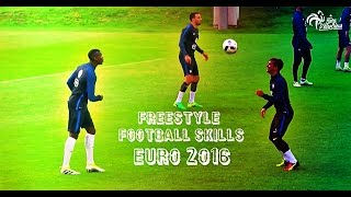 Euro 2016 - Freestyle Show Skills Players | 1080i | HD