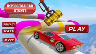 HD impossible car Driving 3D Gameplay Smart Game Pro