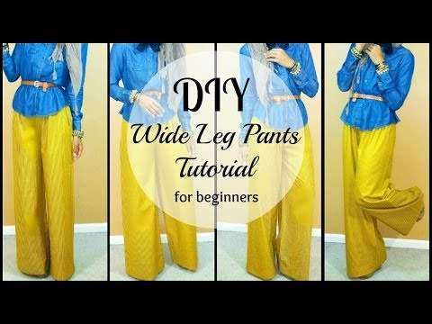 Nadira037 | DIY | How to Sew Wide leg Pants | For Beginners thumbnail