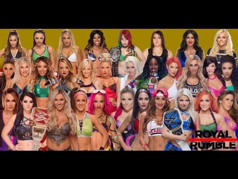 wwe women's royal rumble 2018 youtube