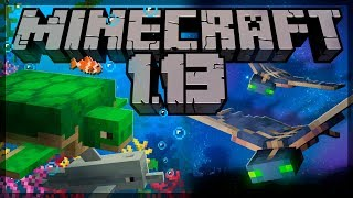Minecraft 1.13 - EVERYTHING YOU NEED TO KNOW!