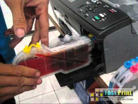 TUTORIAL PEMASANGAN MCISS BROTHER DCP-J125 CARTRIDGE LC39.mp4