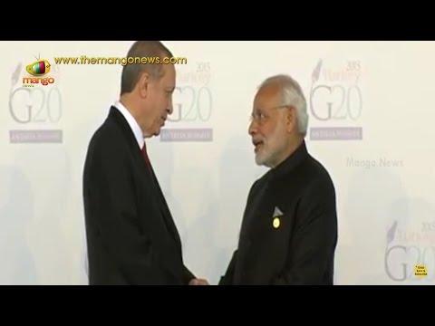 PM Modi Reaches G20 Summit Venue in Turkey | Antalya Summit | Mango News