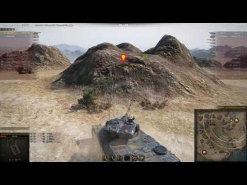 AMX 50 100, Эль-Халлуф, Стандартный бой