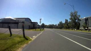 Albert Park Fixed gear lap Jan 2 2k11