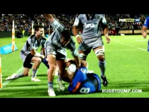 Super Rugby Plays of the week Rd.3  2012