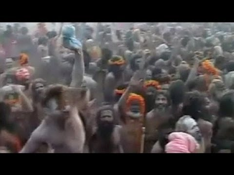 """Biggest gathering of humanity on Earth"" in India"