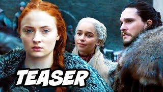 Game Of Thrones Season 8 Teaser - Sansa Stark Promo and Daenerys Easter Eggs Breakdown