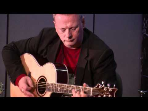 PRS SE Angelus Acoustic Demo with Tony McManus - PRS Guitars 2012 NAMM Press Conference