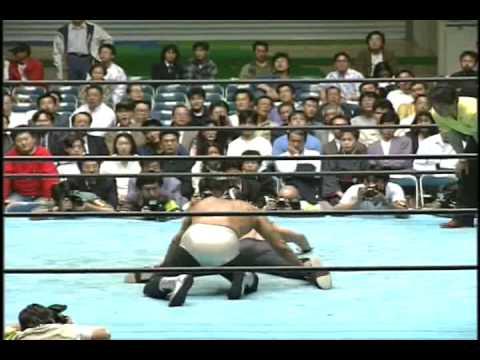 Mil Mascaras, Dos Caras vs Chris Jericho, Isin Ricky 1/2