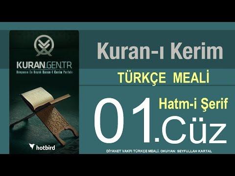 TÜRKÇE KURAN-I KERİM MEALİ - 1 CÜZ  KURAN.gen.tr--KURAN.gen.tr--KURAN.gen.tr