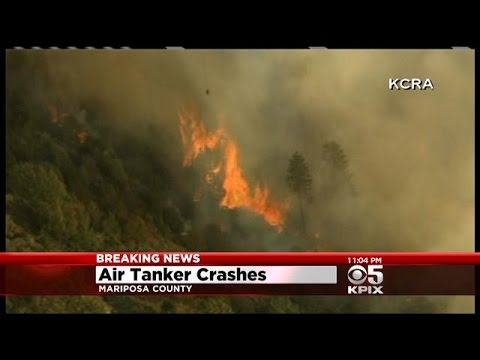Cal Fire pilot dies in plane crash battling wildfire