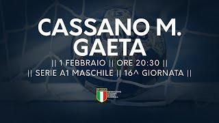 Serie A1M [16^]: Cassano Magnago - Gaeta 24-23