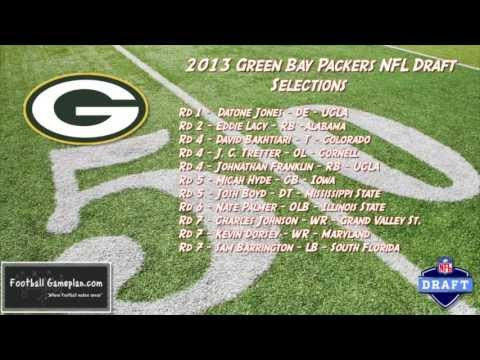 Football Gameplan's 2013 NFL Draft Grades - Green Bay Packers