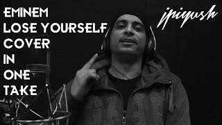 Eminem Lose Yourself Cover In One Take By Indian Rapper - jPiyush Raps