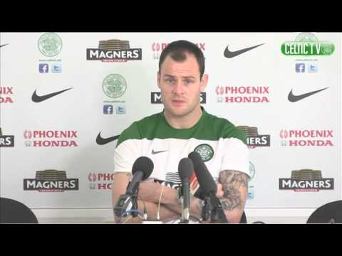 Celtic FC - Anthony Stokes pre-match