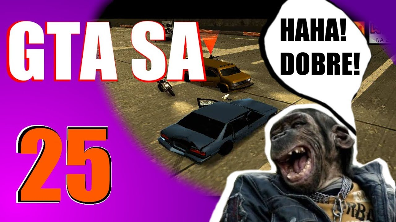 GTA SA 26 Kabaret? Nie, to GTA!!! || ft. Kuzyn Mateusz