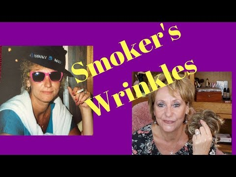 Anti-Aging Light Therapy| Derma Rolling| Smokers Wrinkles | My Opa and Smoking #MatureBeauty