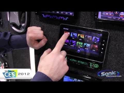 Absolute AVH-1100AN Car Stereo w/ Android Tablet - CES 2012 First Look!