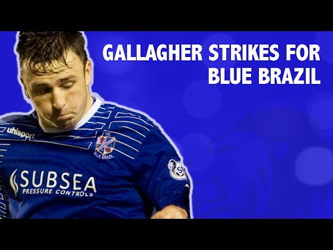 Gallagher strikes for Blue Brazil