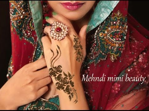 Arabic Rose Henna Designs Arabic Roses Henna...soft And