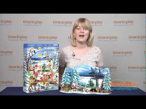 Forest Winter Wonderland Advent Calendar from Playmobil - YouTube