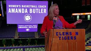 Amanda Butler introduced as new head coach