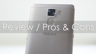 Honor 7 Smartphone Full Review with Pros & Cons