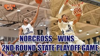 Norcross WINS 2nd Round State Playoff Game against Duluth