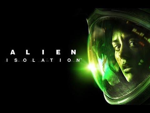 Поиграл в Alien: Isolation - Амнезия в космосе! Фантастический хоррор во вселенной кинофильма Чужой