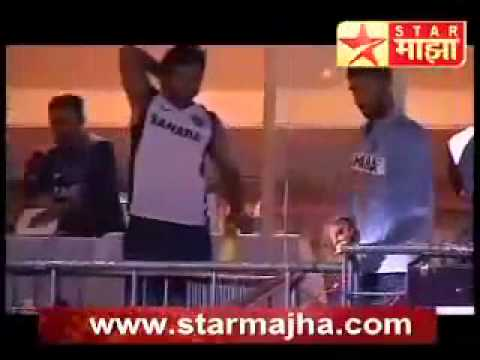 Indian Team Dressing Room Comedy.flv video