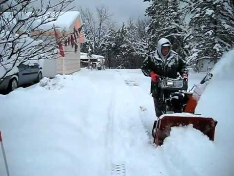 Biggest Husqvarna Snow Blower in Wisconsin! The 1830EXLT