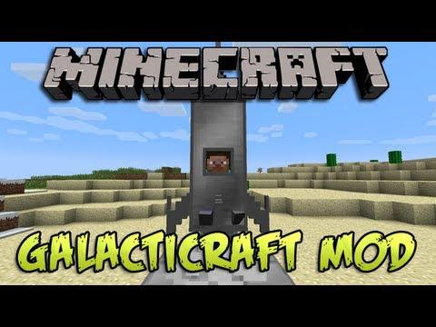 Como ir al espacio en Minecraft - Galacticraft Mod 1.7.10   Tutorial Español