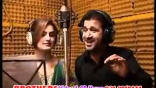Rahim Shah   Ghazala Javed NEW SONG- ZRA BYALALEY PA TA DEY.flv