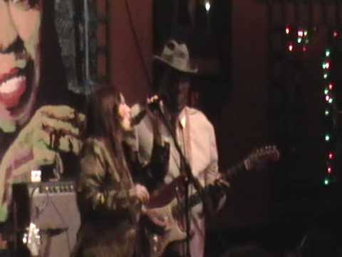 Marci and Luther Guitar Junior Johnson/Mojo Workin