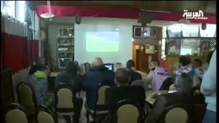 جماهير فلسطين وتشجيع بطل دوري تشيلي