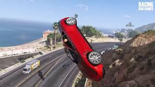 GTA 5 Car Explosion Compilation   BEST OF OCTOBER 2018