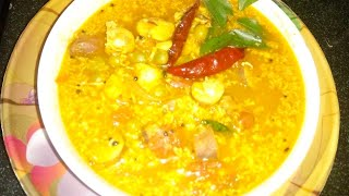 TASTY JACKFRUIT SEED CURRY WITH GREEN PEAS !!! EASY RECIPE !!!