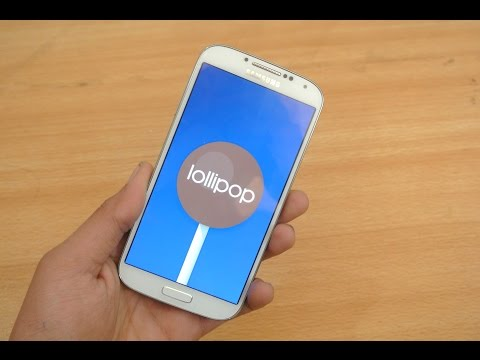 Samsung Galaxy S4 OFFICIAL Android 5.0.1 Lollipop Firmware Review (LEAKED)
