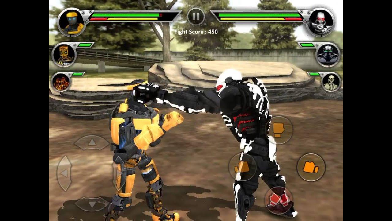 Real Steel Albino vs Zeus Real Steel Gold Team vs Zeus