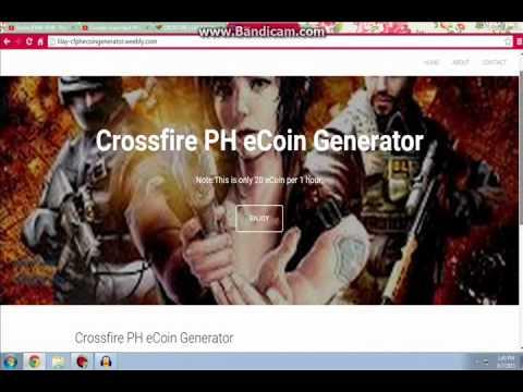 Crossfire PH eCoin Generator Works !!! 2015 100% Walang daya daya