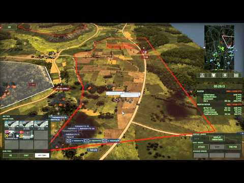Wargame Red Dragon 2v4 on Jungle Law using Scandinavian Support Deck