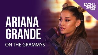 Ariana Grande Talks About The Grammys