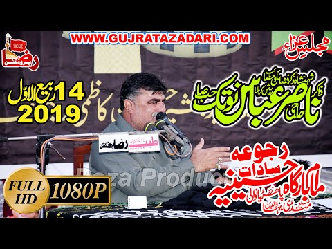 Zakir Nasir Abbas Notak | 14 Rabi Ul Awal 2019 | Rajoa Sadat Mandi Bahauddin ||  Raza Production