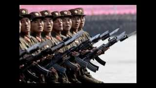 North Korean Song: Bayonets of justice, Bring Thunder - English