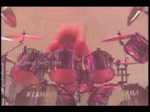 X Japan「orgasm  English Version」 英語詞付き1996live video