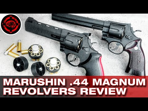 Marushin Gas .44 Magnum Revolvers Review