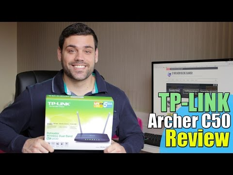 REVIEW ROTEADOR TP-LINK ARCHER C50 DUAL BAND | BOM E BARATO - GRAPE TEC